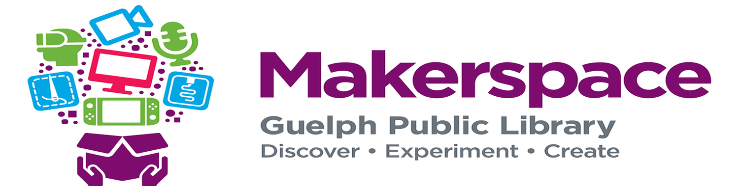 Guelph Public Library's Makerspace Logo